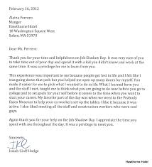 Thank You Letter After Getting The Job Sample Sample Thank You Letters After Job Shadow Valid Veteran Thank You