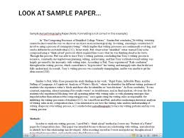 analyzing autoethnography look at sample paper