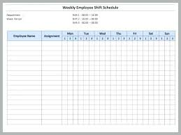 Free Monthly Schedule Template Excel Tsurukame Co