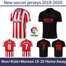 Alibaba.com offers 846 atletico madrid products. Men Atletico Madrid Home Away Jer Ry 19 20 Kid Kit Occer Jer Ey 2019 2020 Joao Felix Cami Eta De Futbol Maillot Women Football Hirt Buy At The Price Of