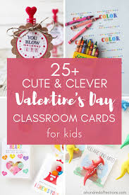 These printable valentine cards will be perfect for any one of your friends or family members this valentine's day. 25 Clever Cute Valentine S Day Classroom Cards For Kids With Free Printables A Hundred Affections