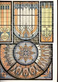 Authentic Art Nouveau Stained Glass Designs In Full Color Authentic Art Nouveau Stained Glass Designs Un Full Color 1 500 00