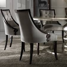 large round italian champagne leaf dining table and chairs set