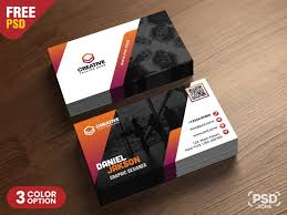 Free Psd Business Card Templates Psd Business Card Design Free Templates Psd Stash