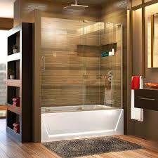 sliding bathroom doors. Mirage-X 56 In. To 60 X 58 Semi- Sliding Bathroom Doors