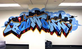 facebook office usa. Facebook Graffiti Art Boomtown Office Usa