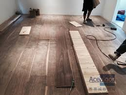 customized 20 6 x 300 x 2200mm ab grade american walnut flooring for philippines villa project