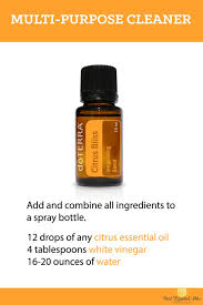 doterra essential oil diy multi purpose cleaner recipe
