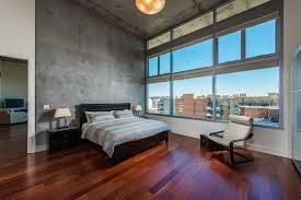 wood floor bedroom. Perfect Wood Modern Bedroom With Brazilian Cherry Wood Floors And Concrete Walls In Wood Floor Bedroom L