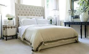 High Tufted Headboard Bed Ideas With Quilted Images