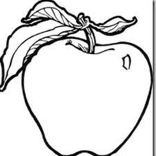 Manzanas Para Colorear Dibujos Manzana Para Colorear