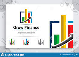 Uses Of Growth Chart Growth Chart Vector Logo As A Symbol Of Accounting With
