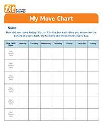 Devereaux Smith Exercise For Kids Charts For Kids Chart