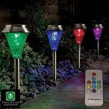 garden solar lights remote controlled