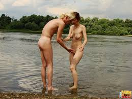 A horny couple goes to the nude beach and has some great public.