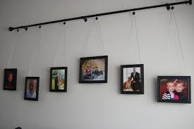Diy Curtain Rods Diy Curtain Rod Gallery Wall