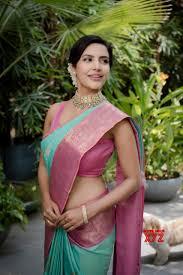 Actress Priya Anand Rocking Stills In A Traditional Saree - Social News XYZ