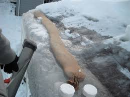 roof wires melt ice how to de ice your gutters the secrets of ice dam removal