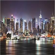 New York Wallpaper For Bedrooms New York At Night Bedroom Wallpaper Best Bedroom Ideas 2017