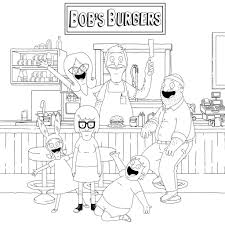 In addition, the kid is carried away and does not bother his mother while she does her business. Happy People In The Restaurant Coloring Page Free Printable Coloring Pages For Kids