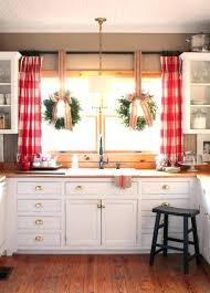 vintage kitchen window treatments. Interesting Treatments Decoration Farmhouse Kitchen Window Treatments White Apron Sink Elements  To Utilize When Creating A Vintage On K