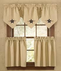 Park Designs Curtains And Valances Park Designs Star Vine Lined Triple Point Valance 60 X 20