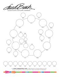 Laurel Burch Coloring Chart
