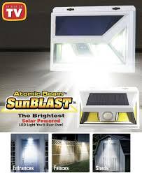 Sunblast Light Walmart Atomic Beam Sunblast Solar Powered Led Lights Solar