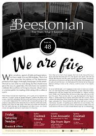 The Beestonian Issue 48 by The Beestonian issuu