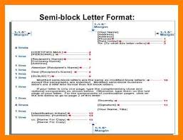 Best Solutions of Business Letter Format Semi Block Style About Layout