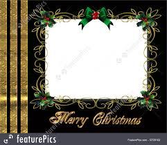 Christmas Photo Frames Templates Free Christmas Border Photo Frame Elegant Royalty Free Stock Illustration