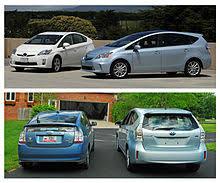 Toyota Prius Comparison Chart Toyota Prius V Wikipedia