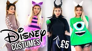 diy disney last minute costume ideas