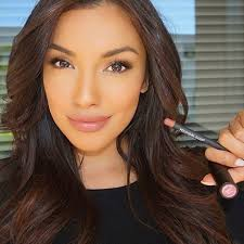 the beautiful zuleyka showing of a little youngblood lip color of in this picture i m wearing malt lip liner cedar lipstick by i love their whole