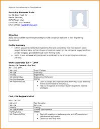 Latest Resume Format For Freshers Student Template 21 Free Cv 2015