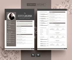 Modern Resume Template Julianna - Resumes