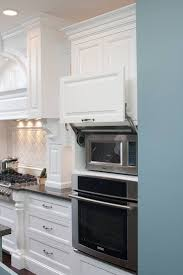 Kitchen Microwave Cabinet 25 Best Ideas About Hidden Microwave On Pinterest Kitchen