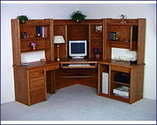 office desk units. Click To Enlarge, Oak Corner Desk Office Units
