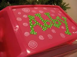 plastic lap desk painted with pain pens want to make one for m