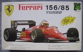 1/24 PROTAR 1985 FERRARI F156/85 F1 KIT ALBORETO JOHANSSON ARNOUX S/I  w/TOBACCO
