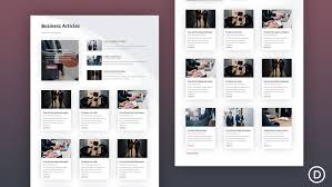 Template For How To Create A Category Page Template For Your Blog Using