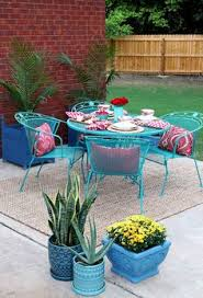 painted metal patio furniture. How To Paint Patio Furniture With Chalk Paint® Painted Metal E