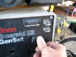 onan 6500 generator wiring diagram onan image motorhome rv onan genset emerald iii 6500 watt got it running by on onan 6500 generator