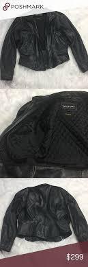wilsons leather vintage motorcycle biker jacket