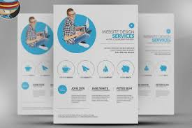 Unique Service Brochure Template Computer Flyer By Business ...