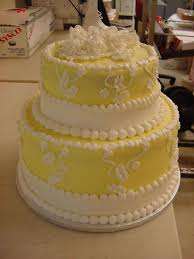 Simple 2 Tier Wedding Cake Cakecentralcom
