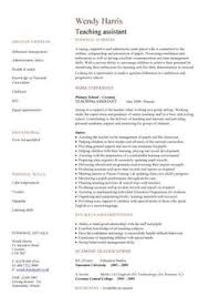 cv teaching assistant teaching assistant cover letter example cover letter examples