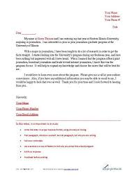 Letter Of Intent Sample Business Forms Letter Of Intent