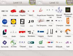 logo quiz level 13 pack contains 80 logos the answers to all of them are