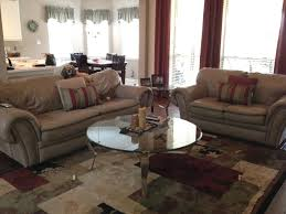 help matching taupe leather couches photo jpg